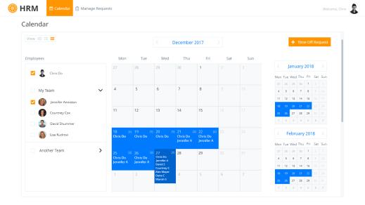 Calendar View - 2